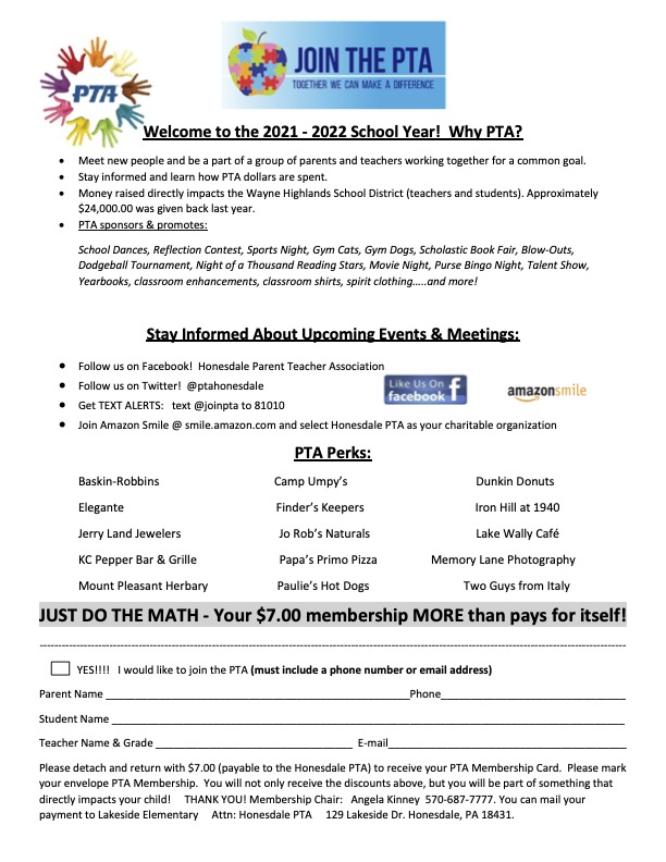 Our Membership Form